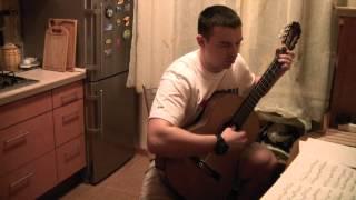 Ария - Беспечный ангел на гитаре
