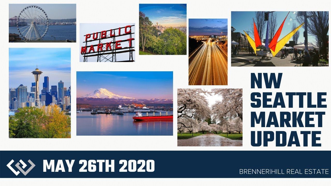 Monday (Tuesday) NW Seattle Real Estate Market Update 📅May 26th, 2020