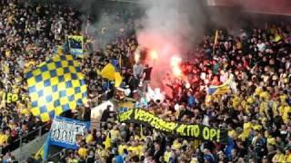 Pyro show på Brøndby Stadion 2 maj 2010