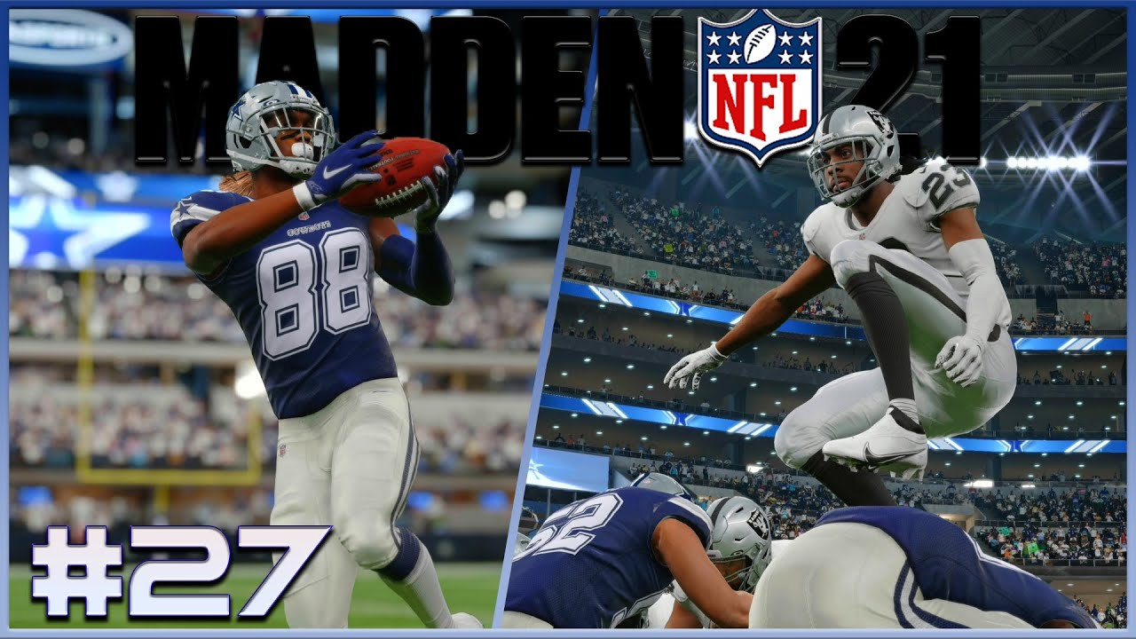 Insane back and forth!  | MADDEN 21 | Cowboys Franchise S2 | Ep. 27 | Week 6 vs Raiders