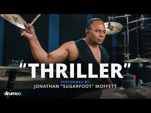 "Michael Jackson's Drummer Jonathan Moffett performs ""Thriller"""