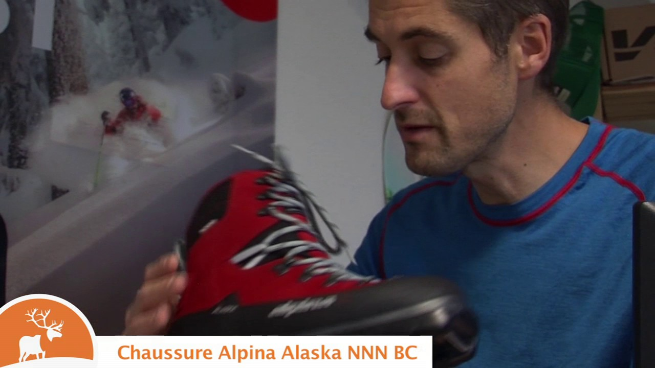 Chaussures Alpina Alaska NNN BC YouTube - Alpina alaska