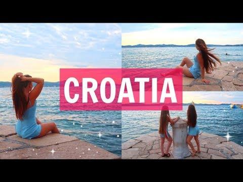 CROATIA TRAVEL VLOG 🌍 ✈️ | ZADAR W MY FRIENDS, SUNSETS..| VLOG #30