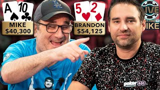 YOU HAVE TO SEE THIS TO BELIEVE IT   Matusow vs Cantu ♠ Live at the Bike!