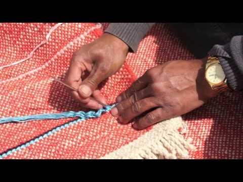 Danskina rugs in the making