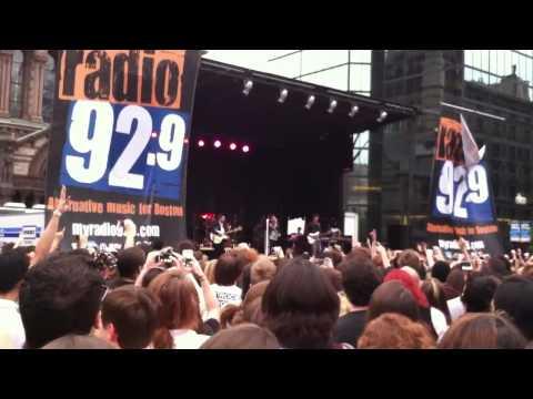 Panic! At the Disco Camisado live at Boston Copley Square