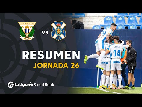 Leganes Tenerife Goals And Highlights