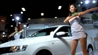 2014台北車展-Skoda車模熱舞秀2