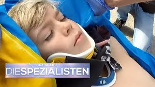 Es geht um jede Sekunde: Moritz (12) vom Auto erfasst! | Auf Streife - Die Spezialisten | SAT.1 TV