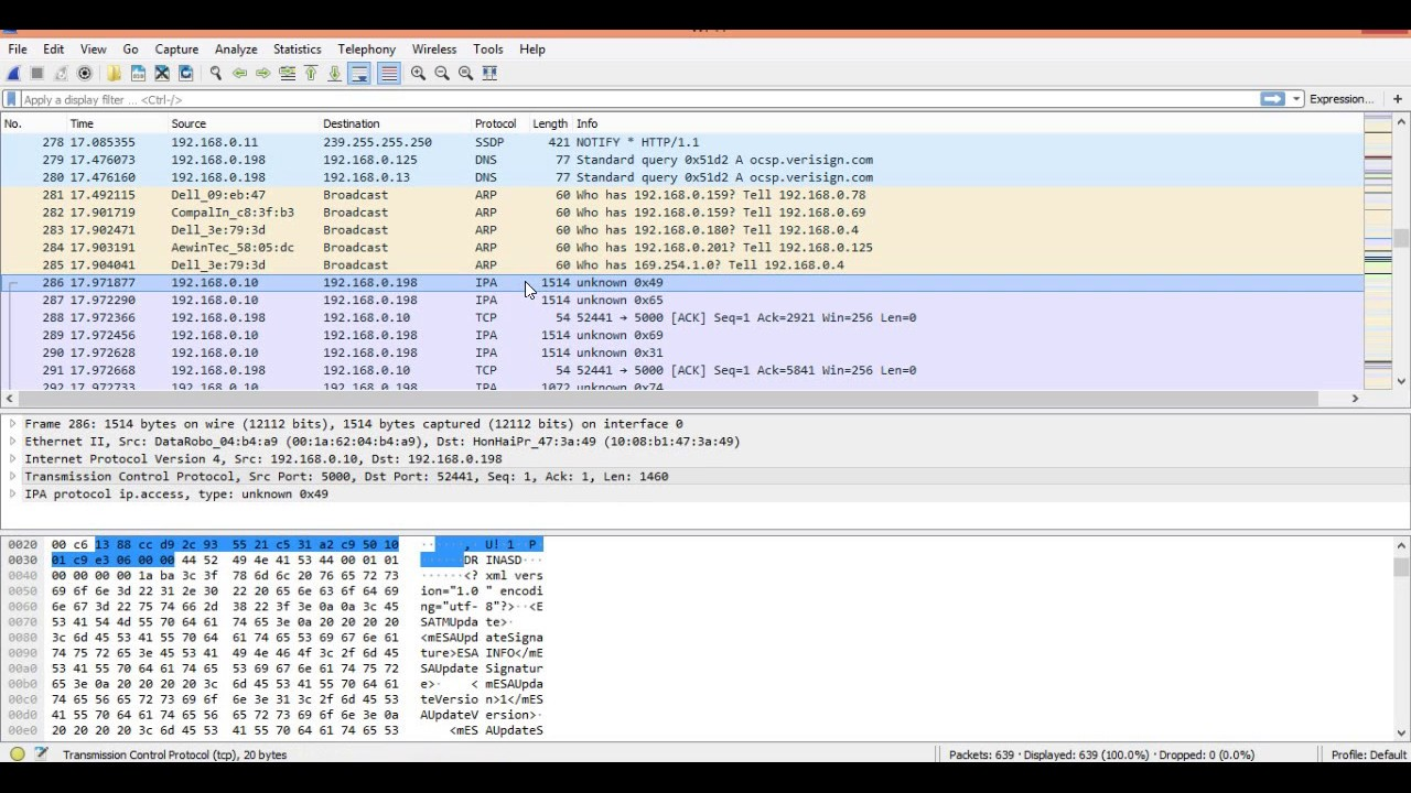 Wireshark The Network Monitor Tool Explained In Hindi | Part-2