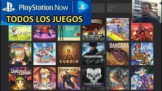 PLAYSTATION NOW - Lista de todos los juegos disponibles, Precio y Detalles PSNOW