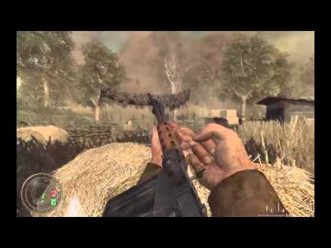 Call of Duty World at War, Seelow heights, Burn' em out