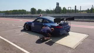 """Puppan"" Porsche 911 Turbo (996) Modified Mantorp Park Time Attack Festival"