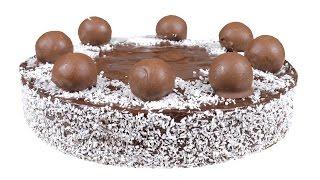 """Торт """"Баунти"""". Супер шоколадные коржи и нежный кокосовый крем. Подробный рецепт."""