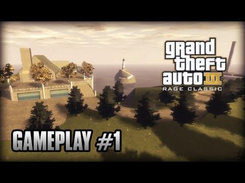 GTA IV - GTA III RAGE Classic (Demo) Gameplay #1 (HD + Max Settings)