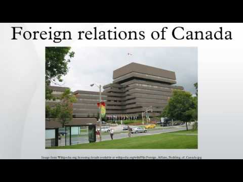 Foreign relations of Canada