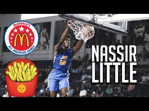 Nassir Little Senior Season Highlights