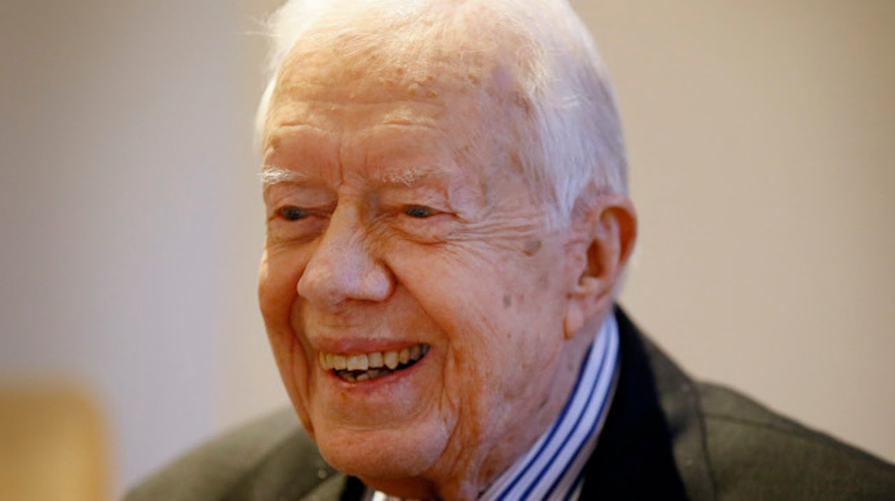 Jimmy Carter On President Donald Trump - YouTube