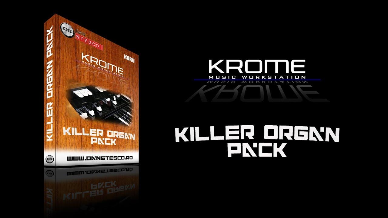 Korg Krome Killer Organ Pack - Dan Stesco Polymoog