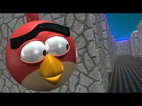 Pacman vs Angry Birds 3D