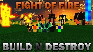 Fight of Fire   Roblox BnD