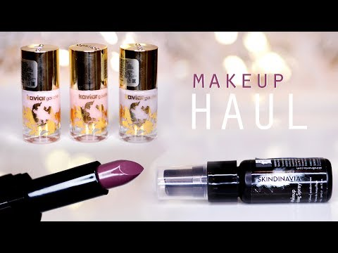 ✪ MakeUP HAUL | ПОКУПКИ с BeautyHome ★ Organic Kitchen, GOSH