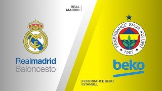 Real Madrid - Fenerbahce Beko Istanbul Highlights | Turkish Airlines EuroLeague, RS Round 1