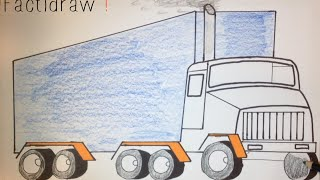 How to Draw a Truck | Simple Drawing Tutorial