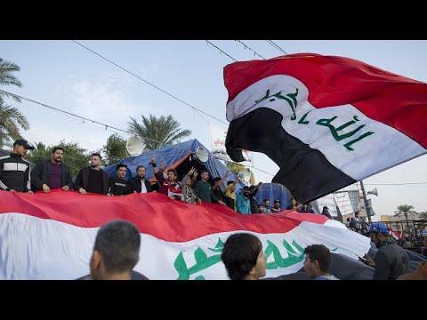 فيديو: آلاف العراقيين يتظاهرون في ساحة التحرير في ذكرى هزيمة داعش…  - نشر قبل 12 ساعة