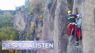 Beinahe erhängt! - Kletterer zieht sich Schlinge um den Hals | Die Spezialisten | SAT.1 TV