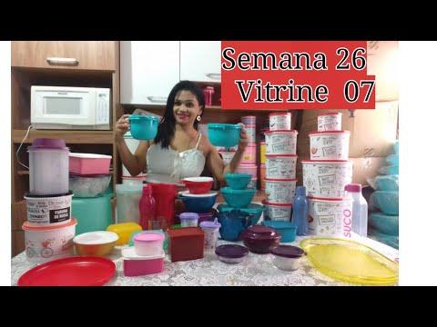 Abrindo Caixa Tupperware Semana 26 Vitrine 07 Youtube