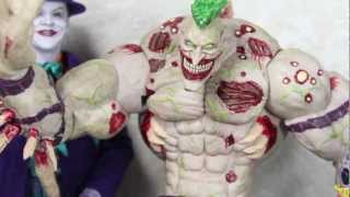 Batman Arkham Asylum DC Collectibles Titan Joker Deluxe Video Game Figure Review