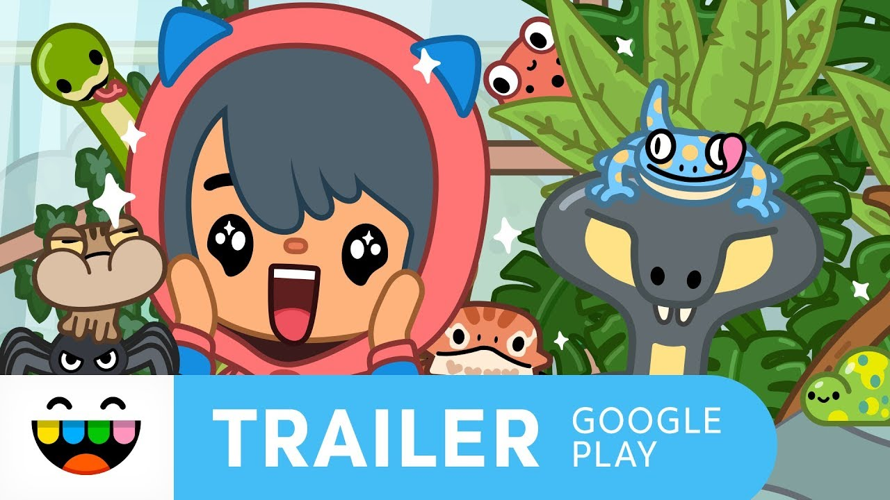 Meet Friends With Paws & Claws | Toca Life: Pets | Google Play Trailer