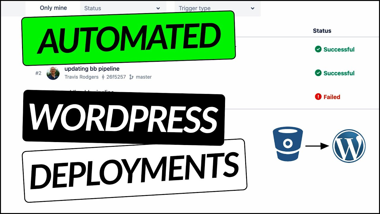Automated WordPress Deployments With Bitbucket Pipelines