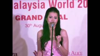 Miss Malaysia World 2014 Grand Final (Part 1) - Opening Dance