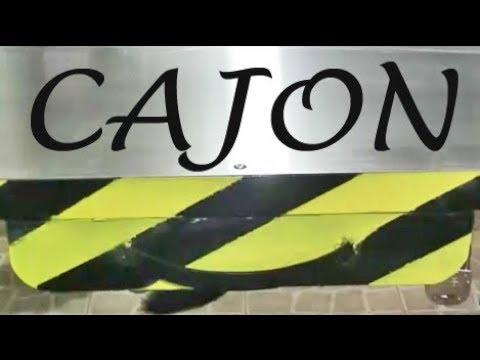 CAJON, para nuestra mesa de trabajo....