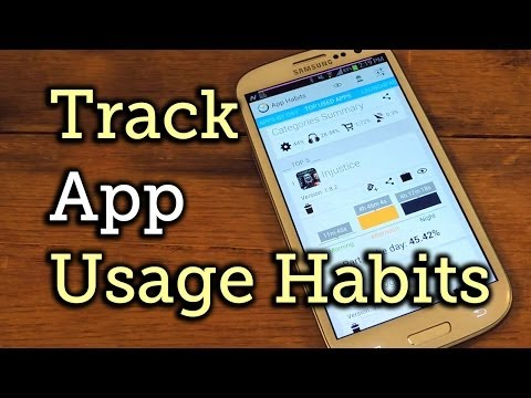 Track App Usage Habits on Your Samsung Galaxy S3 for a More Productive Day [How-To]