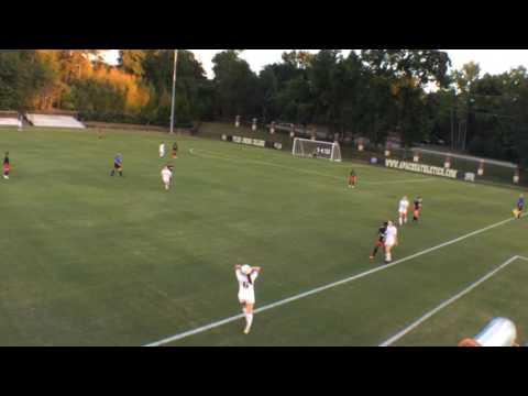 2016 Women's Soccer: Tyler vs Navarro (1st Half)