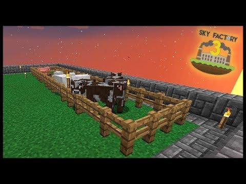 Fazendinha - Spawan de Animais Passivos - Minecraft Skyfactory 12