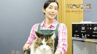 忽那『脱走はゼロ!』 木村『猫っぽさを意識した役作り』 猫・猫・猫!...