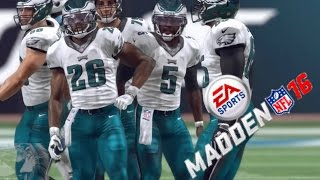 Madden 16 - Inside Zone Time! 299 YDS RUSHING, 0 PASS YARDS! Madden 16 Ultimate Team Ep. 26
