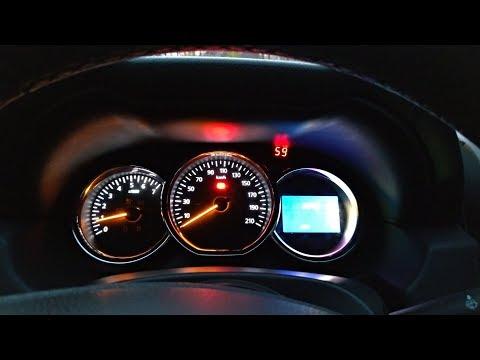 Отображение температуры двигателя на Дастере
