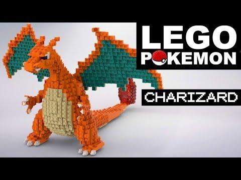 CHARIZARD Lego Pokemon (custom Build)