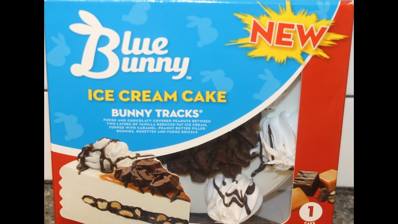 Blue Bunny Ice Cream Cake Bunny Tracks Review Youtube