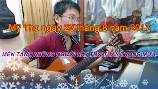 Mưa Qua Phố Vắng - Sáng tác: Hà Phương - [Bolero - Guitar Instrumental]