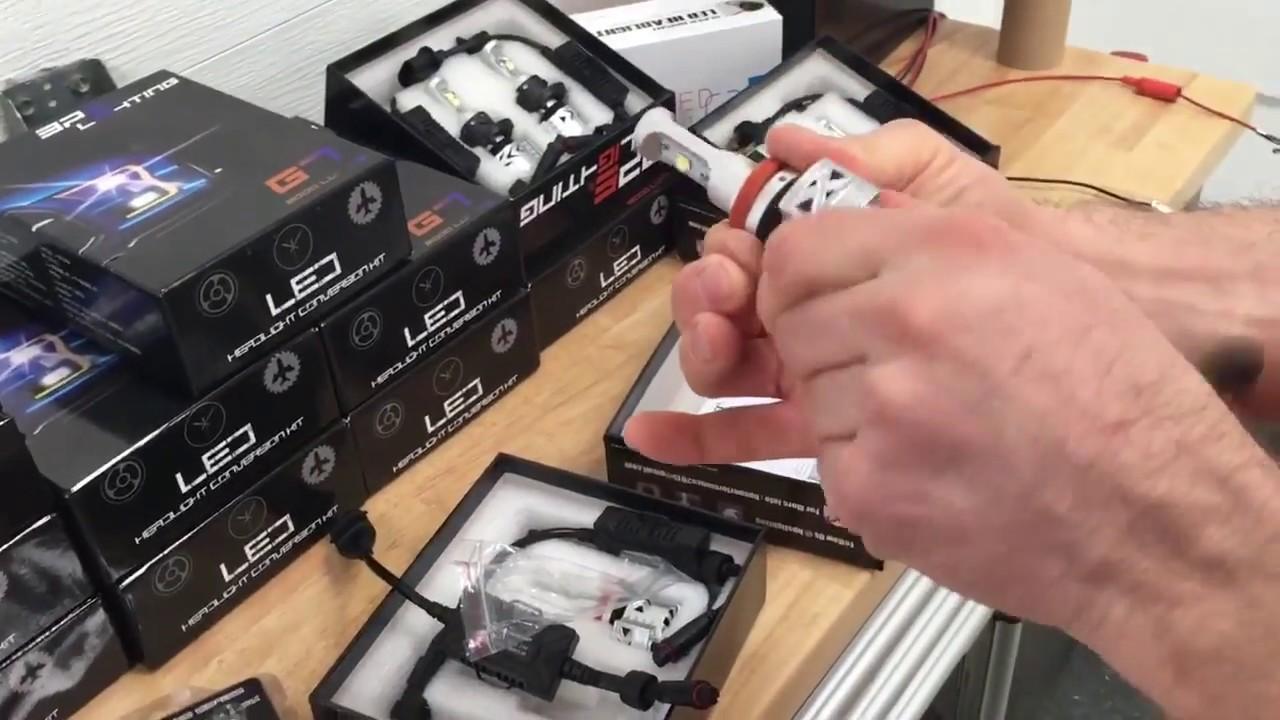 hight resolution of bps lighting g8 cree led headlight conversion kit installation tutorial