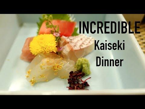 Incredible Japanese Kaiseki Course Dinner Meal | Konansou Ryokan