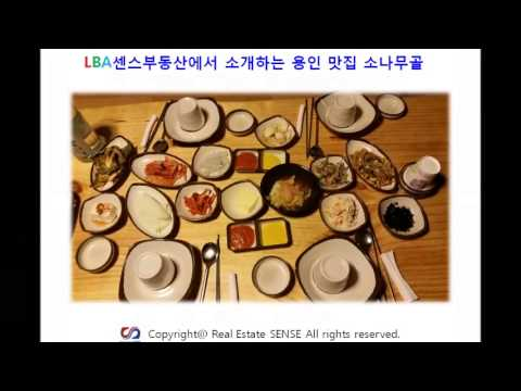 용인맛집 소나무골 의정부부동산 발뛰중 소개