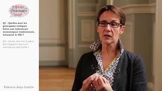 S3.6- Les limites des indicateurs usuels de croissance économique. Florence JANY-CATRICE