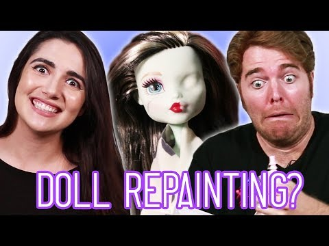 Thumbnail: Giving Dolls Tiny Makeovers (feat. Shane Dawson)